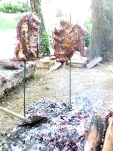 Asado ( Metodo di cottura Argentino)